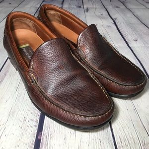 Johnston & Murphy | Leather Slip On Size 10